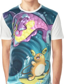 Pokemon - Surf's Up! Graphic T-Shirt