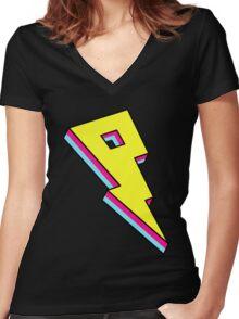 Proximity logo Women's Fitted V-Neck T-Shirt