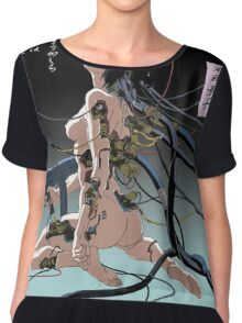 Ghost In The Shell Poster Chiffon Top