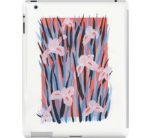 Iris, white bg iPad Case/Skin