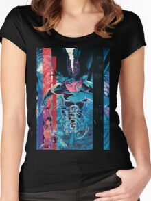 Ghost In The Shell Poster Women's Fitted Scoop T-Shirt
