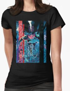 Ghost In The Shell Poster Womens Fitted T-Shirt