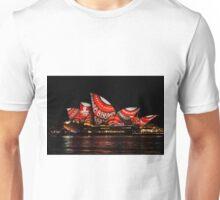 Sydney Vivid 10 Dot Art 3 Unisex T-Shirt