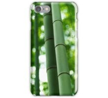 Bamboo forest stems close-up art photo print iPhone Case/Skin