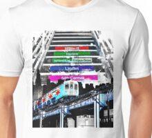 Orange Line and Dime Unisex T-Shirt