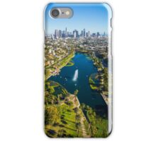 Aerial Echo Park iPhone Case/Skin