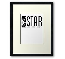 S.T.A.R. Labs Framed Print