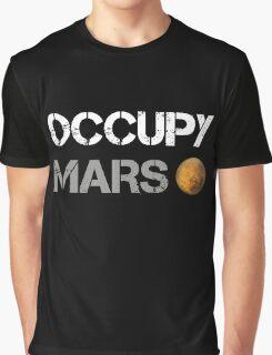 Occupy Mars Shirt Graphic T-Shirt