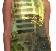 """""""As the sun goes down"""" San Francisco Contrast Tank"""