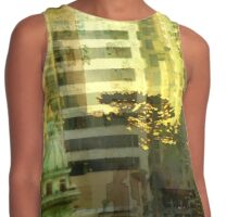 """As the sun goes down"" San Francisco Contrast Tank"