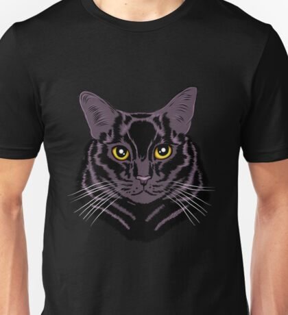 Black cat appreciation Unisex T-Shirt
