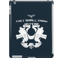 They shall know no fear iPad Case/Skin