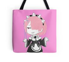 "Re:Zero Ram ""Who Cares"" Look Tote Bag"