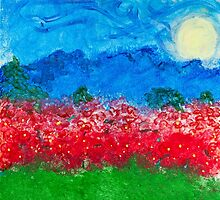 Through the Poppies. by Raymond Doyle (BlackRose Designs)