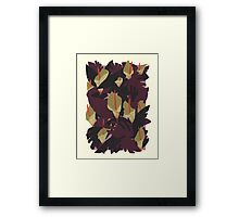 Midnight Jungle Framed Print
