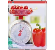 Red Pepper Scale iPad Case/Skin