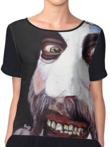 Captain Spaulding Chiffon Top