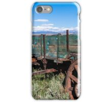 Abandoned Wagon of the West iPhone Case/Skin