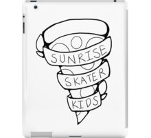 Sunrise Skater Kids iPad Case/Skin