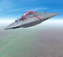 The Flying Saucer II by mdkgraphics