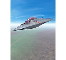 The Flying Saucer II Photographic Print