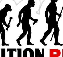 Evolution Of Man and Rugby Funny T Shirt Sticker