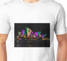 Sydney Vivid 14 Patterns 1 Unisex T-Shirt