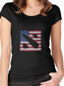 American Dota Women's Fitted Scoop T-Shirt