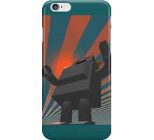 Retro Style Robot 4 iPhone Case/Skin