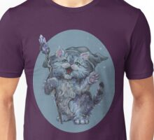 Wizard Kitty (probably casting catnip spells) Unisex T-Shirt