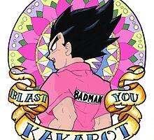 Blast You Kakarot by Leeharebbeccah