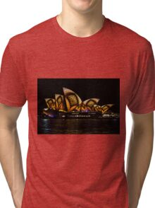 Sydney Vivid 17 Patterns 2 Tri-blend T-Shirt