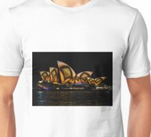 Sydney Vivid 17 Patterns 2 Unisex T-Shirt
