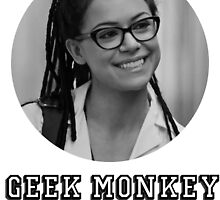 I'm the geek monkey now by simxne