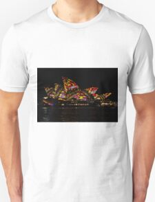 Sydney Vivid 18 Patterns 3 Unisex T-Shirt
