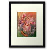 Iris - Goddess Of Spring Framed Print