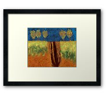 0113 Abstract Landscape Framed Print