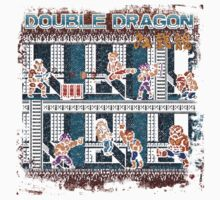 Double Dragon One Piece - Short Sleeve