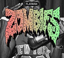 Meechy Darko Flatbush Zombie Logo by TRiles23