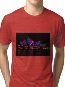 Sydney Vivid 19 Patterns 4 Tri-blend T-Shirt