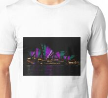 Sydney Vivid 19 Patterns 4 Unisex T-Shirt
