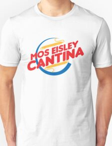 MOS EISLEY CANTINA FAST FOOD T-SHIRT #2 Unisex T-Shirt