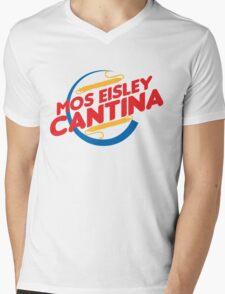MOS EISLEY CANTINA FAST FOOD T-SHIRT #2 Mens V-Neck T-Shirt
