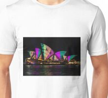 Sydney Vivid 21 Patterns 5 Unisex T-Shirt