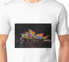 Sydney Vivid 22 Flowers Unisex T-Shirt