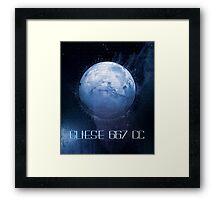 A New Earth? Framed Print