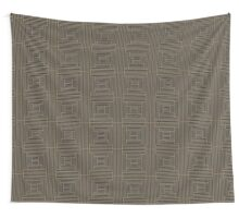 Parallel Thinking (cocoa) Wall Tapestry