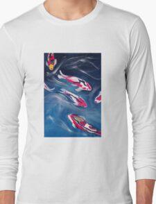 Koi In Motion Long Sleeve T-Shirt