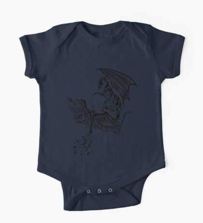 Dragon Fighting 578 One Piece - Short Sleeve