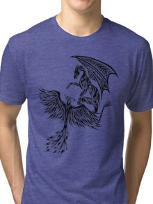 Dragon Fighting 578 Tri-blend T-Shirt